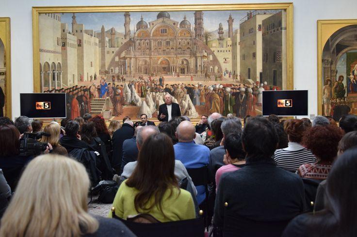 Un caloroso ringraziamento a Rai 5 per aver contribuito a questo grande evento! #rai5 #raicultura #milan #art #brera