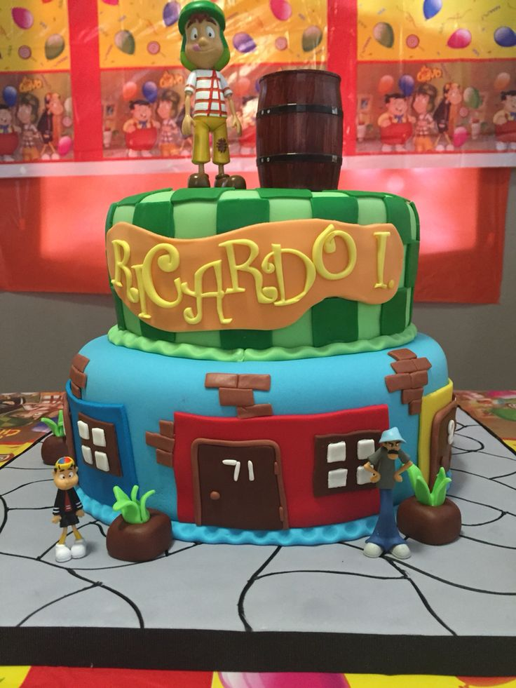 El Chavo Del Ocho Cake Cakes S Pinterest Cakes