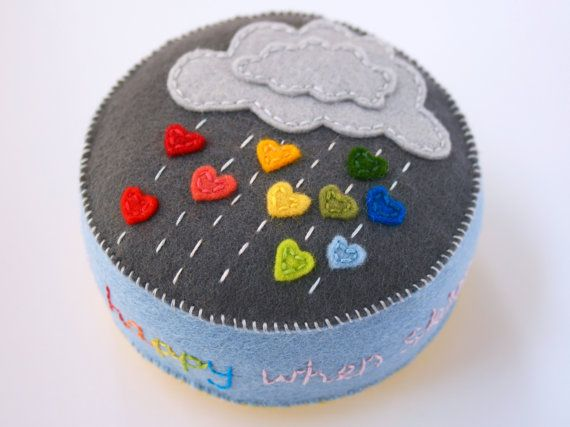 Hey, I found this really awesome Etsy listing at https://www.etsy.com/listing/252868277/felt-pincushion-with-grey-raincloud-and