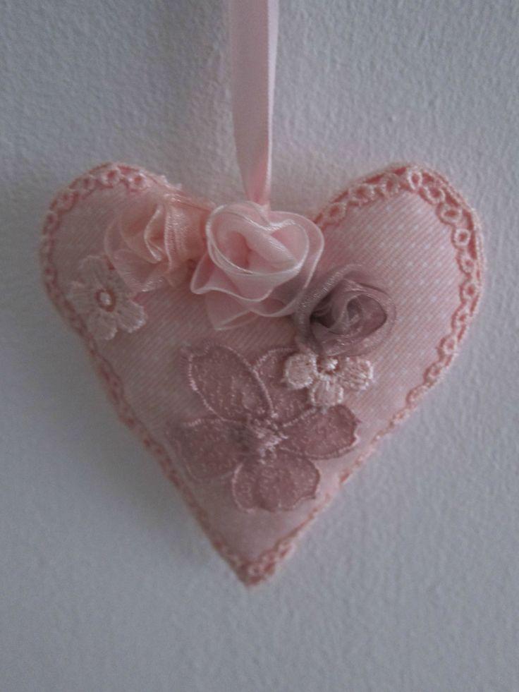 Crochet heart.