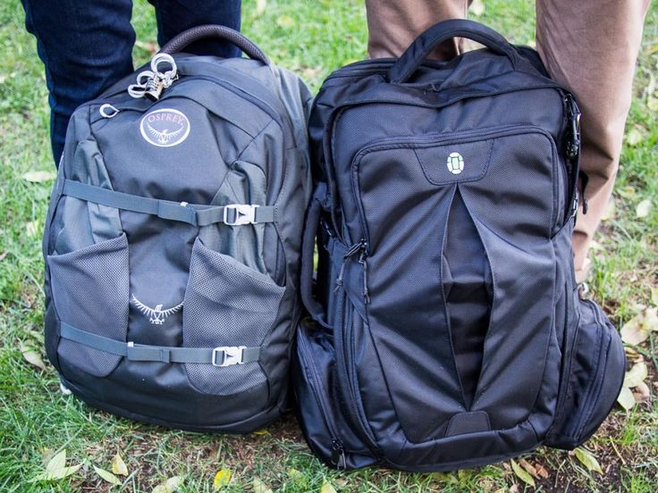 Best carry-on backpack for digital nomads;: The Osprey Farpoint 40 and the Tortuga backpack review #TravelwithHSN
