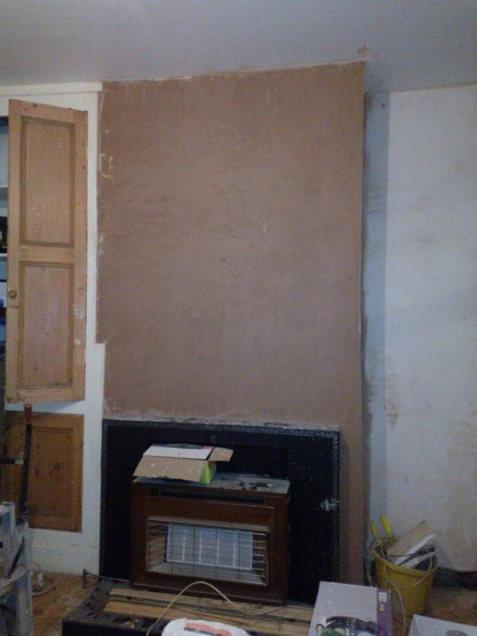 18.)  Along with two thirds of a Dining Room...which is nice as this wasn't part of the deal! By doing the chimney breast as well...