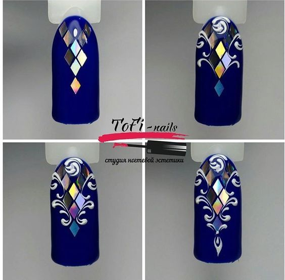 Дизайн ногтей декабрь 2017