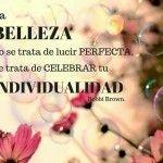 La belleza no es perfección