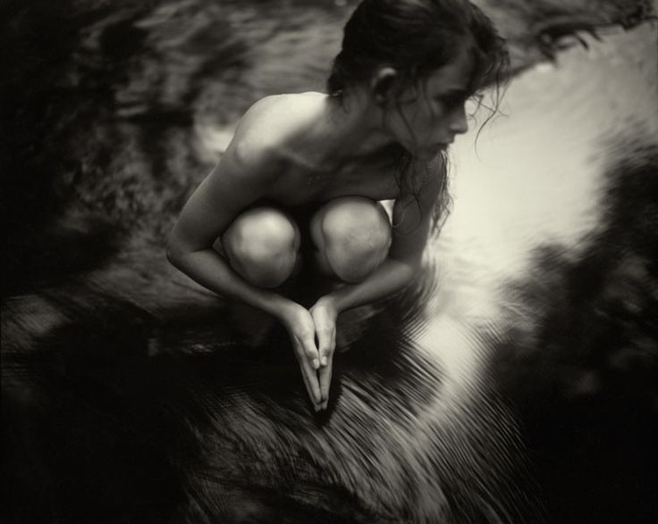 By my favourite living art photographer, Sally Mann.  From her late 1980's exhibition and book, 'Immediate Family'.
