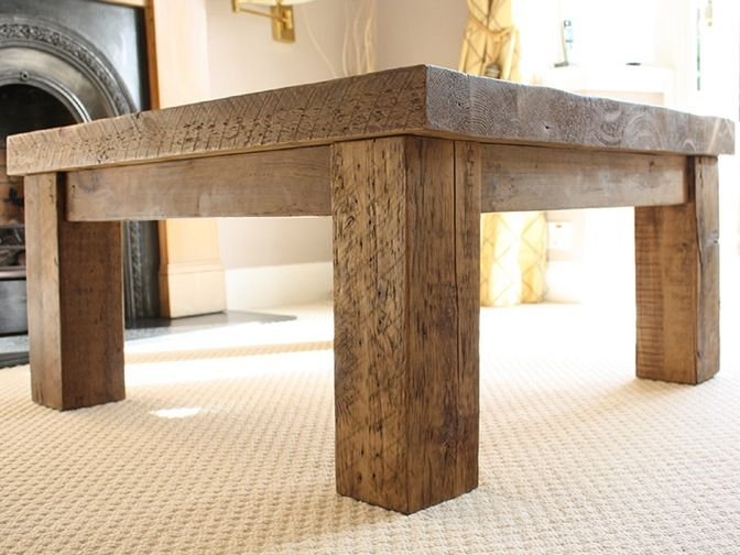 A Wonderfully Handcrafted Solid Wood Coffee Table Made From Reclaimed Wood,  This Table Makes For A Truly Spectacular Centre Piece In Your Lounge.