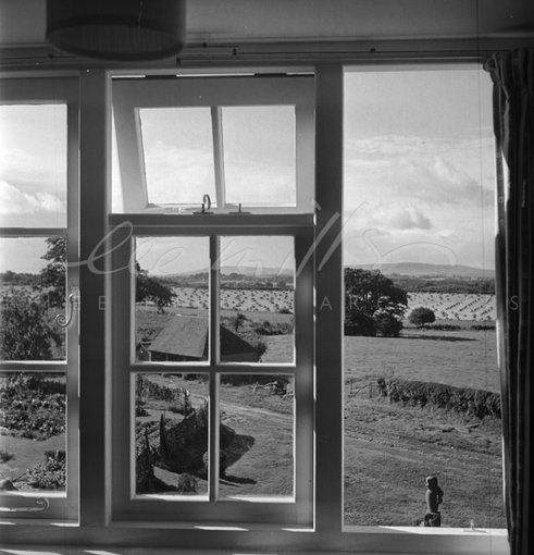 View from Farley Farm House (1952) by Lee Miller