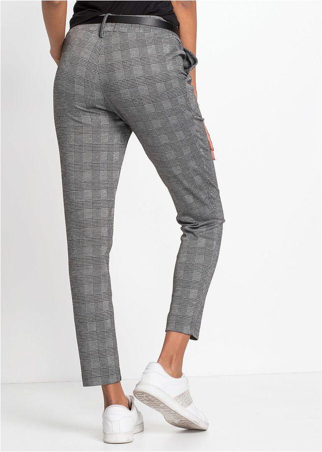 1b772d251681 Kockás nadrág • fekete/fehér kockás • bonprix áruház   Nadrág H&M in ...