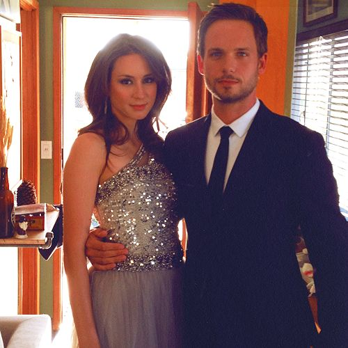 Patrick J. Adams (Suits) and Troian Bellisario (PLL) - one of my favorite couples!