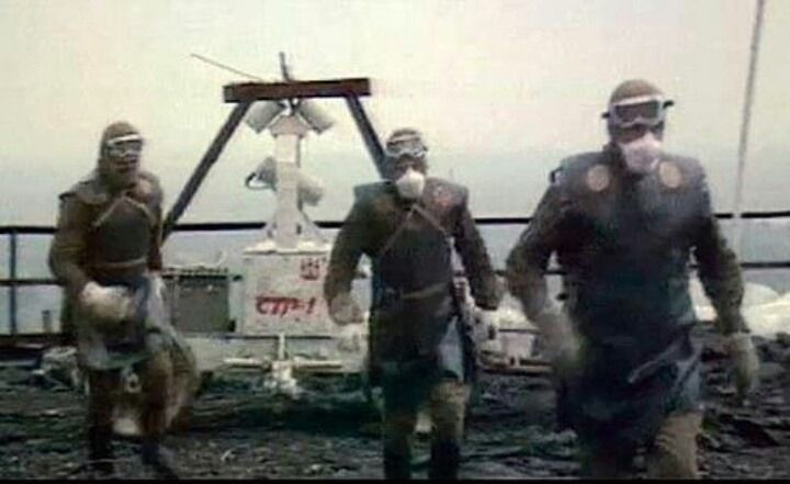 """enrique262: """" The bio-robots of Chernobyl, liquidators tasked with the manual clean-up of heavily contaminated debris from the rooftop of reactor 4, since the RC vehicles originally sent were..."""