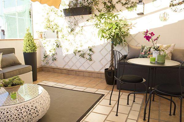 Impresionante antes y despu s de una terraza descubre for Patio decorado