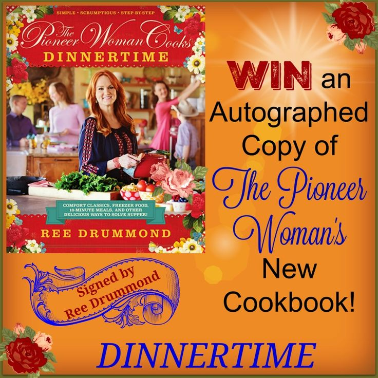 Win The Pioneer Woman Cookbook Autographed by Ree Drummond
