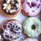 Vegan, spring-colored Donuts, so inviting to take a bite! The 10 Best Donut Shops in New York City on TheCultureTrip.com Click on the picture to find the best donuts in New York. (Image via myveganjournal):