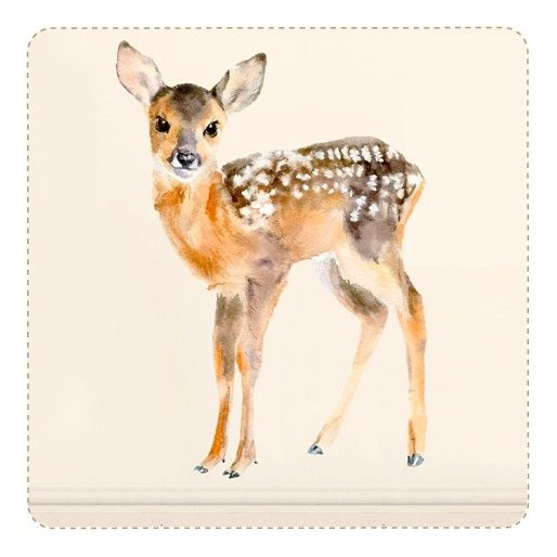 Baby deer wall sticker