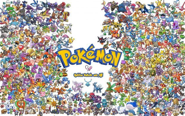 All Pokemon HD Wallpaper.