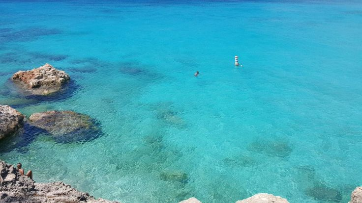 The ocean of Curacao is so bright and blue, it would almost hurt your eyes...