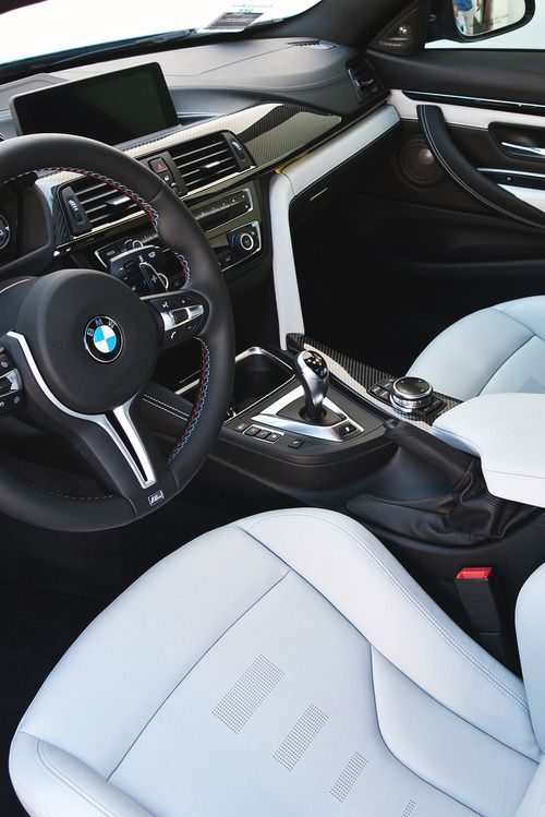 Super Rich Babes~c.c.c~ Drive A Luxury Car Like This BMW M4 (Interior)