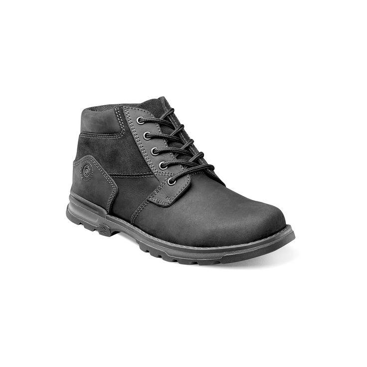 Nunn Bush Park Falls Men's Leather Boots, Size: medium (11.5), Grey (Charcoal)