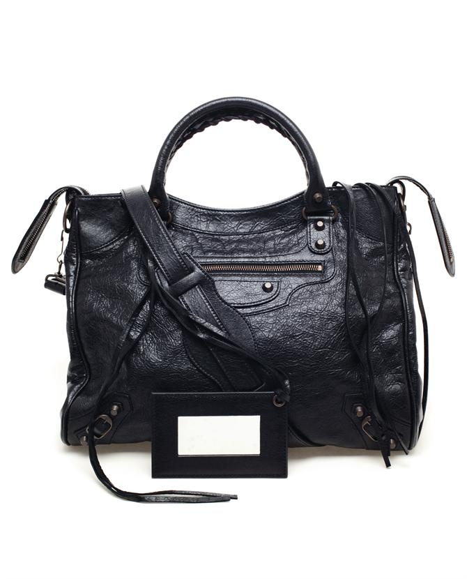 BALENCIAGA | 'Velo' Classic Leather Handbag