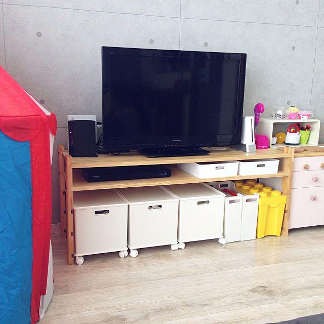 もっと便利にしたい テレビ台を使いこなす収納アイデア 収納 アイデア テレビボード Diy リビング テレビボード