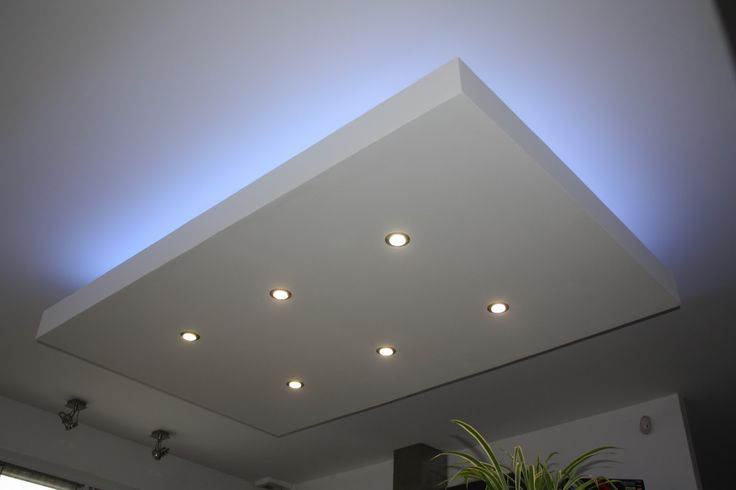 1000 id es propos de faux plafond led sur pinterest for Eclairage led interieur plafond