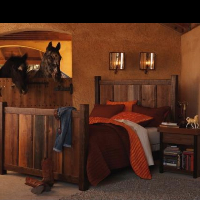 horse stall bedroom such a cute ideathis is going to be one of kids bedrooms