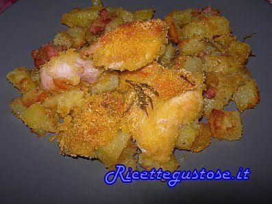 Un'idea per la cena? pollo al forno marinato al limone, facile e gustoso! Pollo al forno marinato al limone..   http://www.ricettegustose.it/Secondi_di_carne_1_html/Pollo_al_forno_marinato_al_limone.html