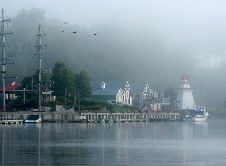 Miramichi New Brunswick Canada  Ritchie Wharf,  beautiful, CFB Chatam is/was close by. Great salmon river the Miramichi