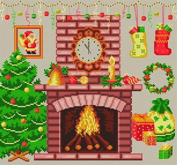 cross-stitch christmas