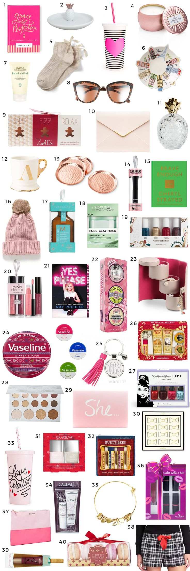 The Best Christmas Gift Ideas for Women under $15 | Shop the ultimate Christmas gift guide for women with Florida beauty and fashion blogger Ashley Brooke Nicholas' top 40 gift ideas under $15!