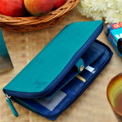 Carry your basic vitals in style with Baggit wide range of stylish Wallets.   Lw Sash Charles Blue - Rs.1225/- Buy Now at: http://goo.gl/8Jatyu
