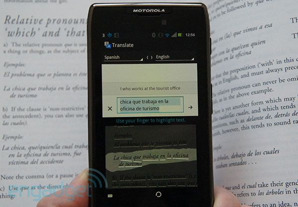 Google Translate app gets weighty update, will translate signs through your smartphone camera