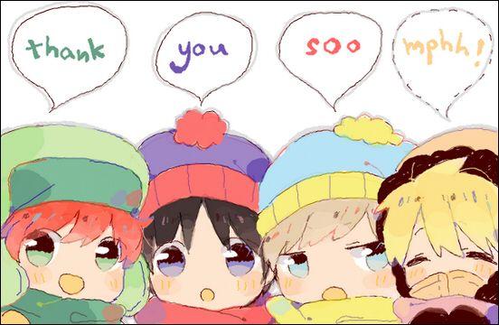 Tags: Anime, Pixiv Id 7001570, South Park, Stanley Randall Marsh, Eric Theodore Cartman, Kyle Broflovski, Kenneth McCormick