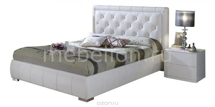 Кровать двуспальная Cinderella 1.6 белый - купить по выгодной цене с доставкой…