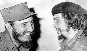 Fidel Castro and Ernesto El Che Guevara