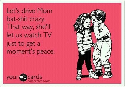 i think my kids must have had this conversation today.