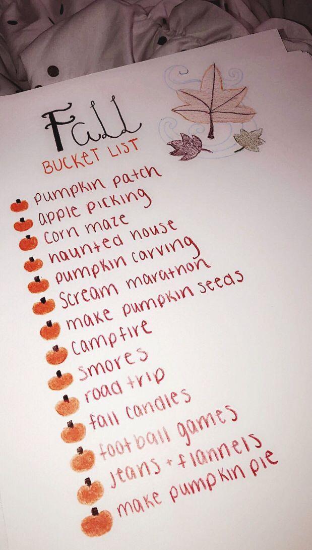 Pinterest Xonorolemodelz Fall Bucket List Fall Goals Fall Feels
