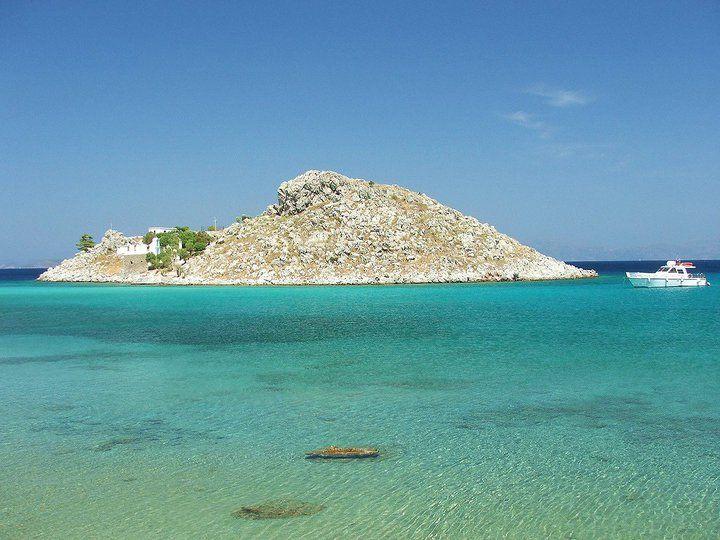 symi agia marina beach