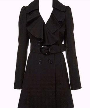 jesienny płaszcz w stylu militarnym do kolan - Szukaj w Google
