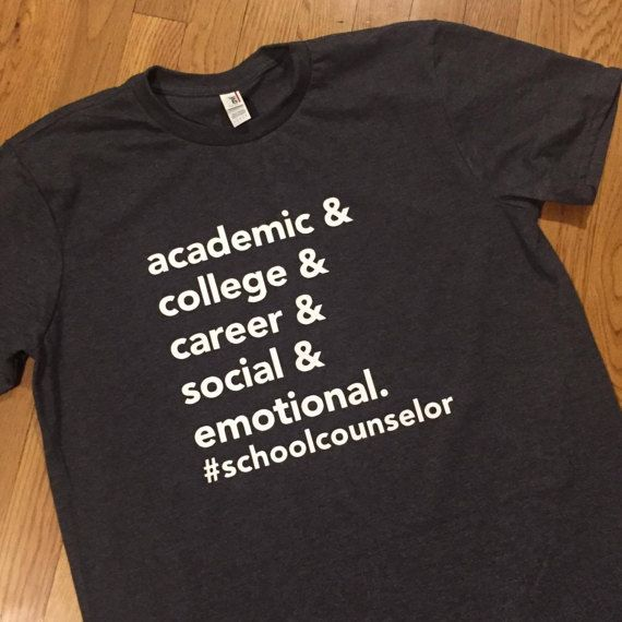 School Counselor Shirt by MisGuidedDesign on Etsy