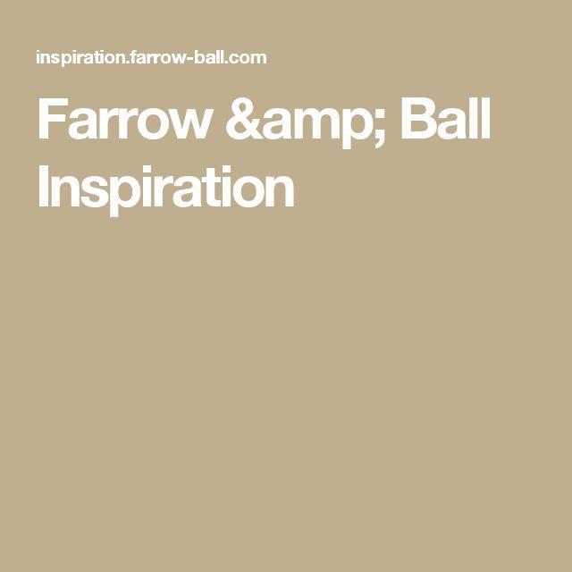 Farrow & Ball Inspiration