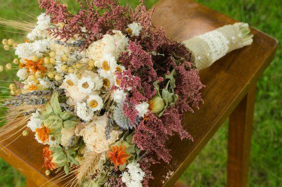 Cream peonies bridal bouquet cream bridal by TheBlaithinBlairShop