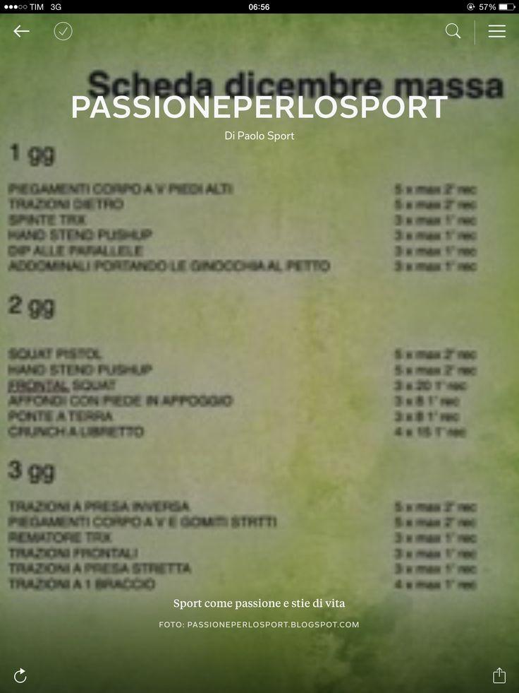 http://passioneperlosport.blogspot.it/2014/12/la-rivista-di-passioneperlosport.html  Passione per lo sport  Twitter @passione_sport Instagram http://instagram.com/p/snBUBulBBH Google+ https://plus.google.com/app/basic/communities/104958884097716357750 Facebook https://www.facebook.com/passioneperlosport  http://passioneperlosport.blogspot.it  http://passioneperlosport79.wordpress.com  Sport come passione e stile di vita  #menùfitness #fitness #paleo #proteica #postworkout