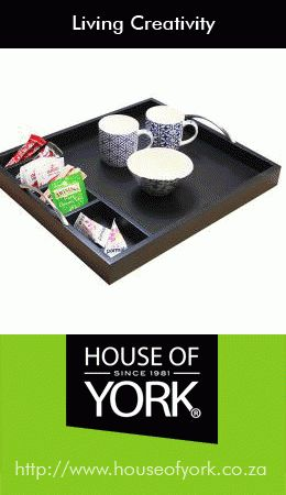 If you're in the hospitality industry, House of York's Tea Caddy Trays are perfect for the teas, coffees and sugars that you leave in the rooms for your guests. #hospitality #trays #teacaddytray