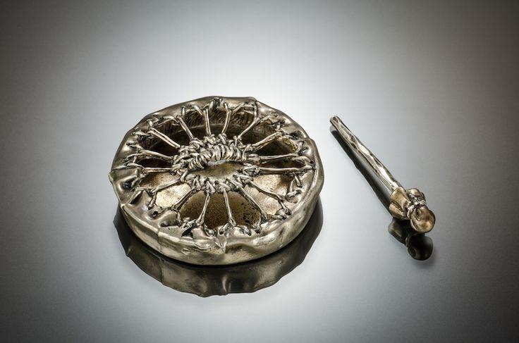 Metal Clay Masters Registry E7 by Kris Kramer Designs -- Back