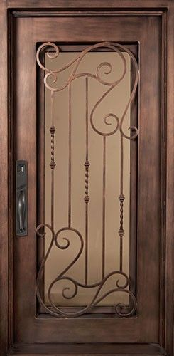 40x98 Affinity Iron Door Beautiful Wrought Iron Front