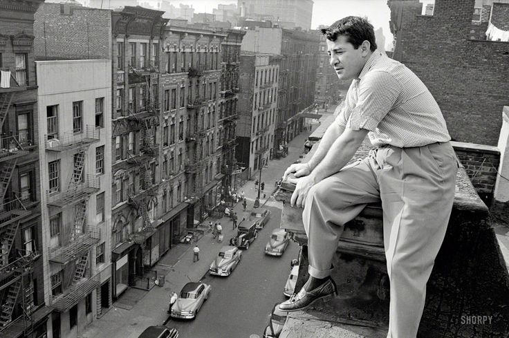 Rocky Graziano in New York City 1954
