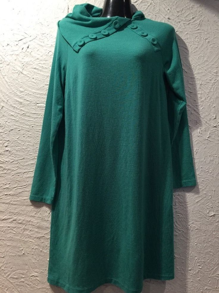 NEW WITHOUT TAGS DESIGNER LEONA EDMISTON FROCKS GREEN SWEATER WOOL DRESS | eBay