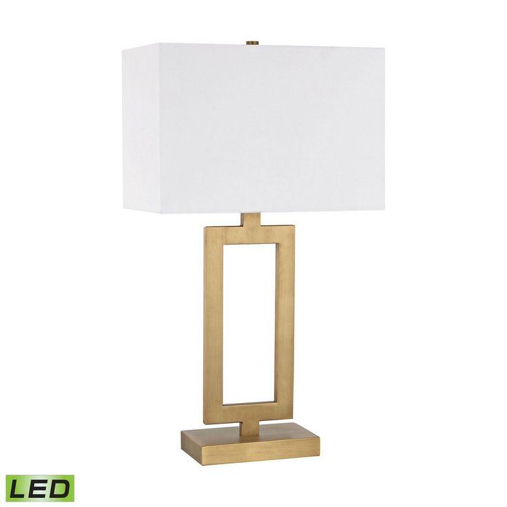"Elk Lighting Exclusive Store | Dromos - 26"" 9.5W 1 LED Table Lamp"