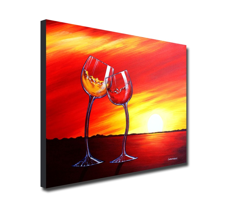 129 best wine drinks images on pinterest canvas for Diy blank canvas